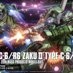 HG 1/144 MS-06C-6/R6 ZAKU II TYPE C-6/R6